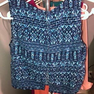 H&M Tank Top with Buttons in the Back